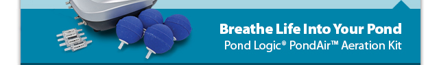 Breathe Life Into Your Pond - Pond Logic® PondAir™ Aeration System