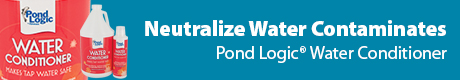 Neutralize Harmful Water Contaminates - Pond Logic(r) Water Conditioner