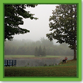 Q: Why is there fog on my pond in the mornings?