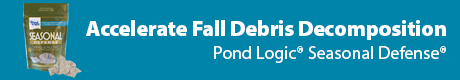 Accelerate Fall Debris Decomposition - Pond Logic(r) Seasonal Defense(r)