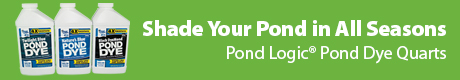 Shade Your Pond in All Seasons - Pond Logic(r) Pond Dye Quarts