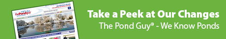 Take a Peek at Our Changes - The Pond Guy(r) - We Know Ponds