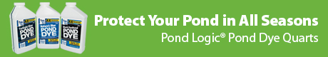Protect Your Pond in All Seasons - Pond Logic(r) Pond Dye Quarts