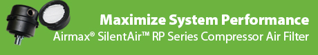 Maximize System Performance & Longevity- Airmax(r) SilentAir(tm) RP Series Compressor Air Filters