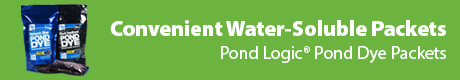 Convenient Water-Soluble Packets - Pond Logic(r) Pond Dye Packets