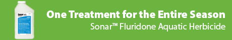 One Treatment for the Entire Season - Sonar™ Fluridone Aquatic Herbicide