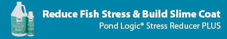 Builds Protective Slime Coating - Pond Logic (r) Stress Reducer PLUS