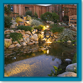 Q: I'm looking to cut back on energy costs. Can I shut off my waterfall at night?
