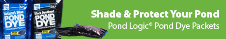Shade & Protect Your Pond - Pond Logic® Pond Dye Packets