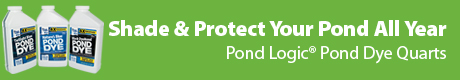 Shade & Protect Your Pond All Year Long - Pond Logic (r) Pond Dye