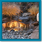 Q: I recently installed a small pondless water feature. How do I maintain it?