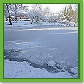 How to Make an Ice Rink on Your Pond - Part 1