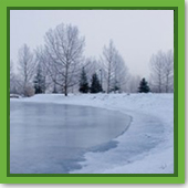How to Make an Ice Rink on Your Pond - Part 2