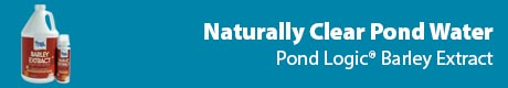 Naturally Clear Pond Water - Pond Logic® Barley Extract