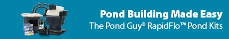 Pond Building Made Easy - The Pond Guy® RapidFlo™ Ecosystem Pond Kits
