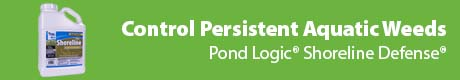 Control Persistent Aquatic Weeds - Pond Logic® Shoreline Defense®