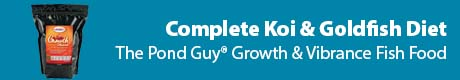 Complete Koi & Goldfish Diet - The Pond Guy® Growth & Vibrance Fish Food