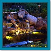 Q: Do I need to hire someone to install lighting in my pond, or is that something I can do?