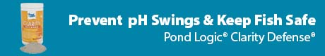 Prevent pH Swings & Keep Fish Safe - Pond Logic® Clarity Defense®