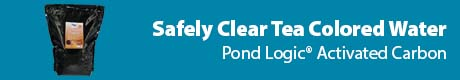 Safely Clear Tea Colored Water - Pond Logic® Activated Carbon
