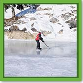 Q: I think my pond is spring-fed. If I shut down my aeration system, will the pond freeze enough for me to skate?