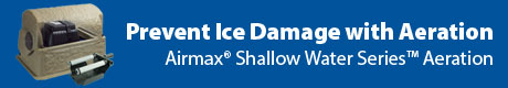 Prevent Ice Damage With Aeration - Airmax® Shallow Water Series™ Aeration System