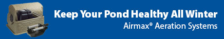 Keep Your Pond Healthy All Winter - Airmax® Aeration System