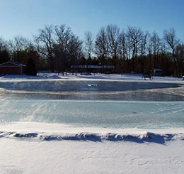 Q: I have an aeration system but the pond is frozen over, am I still getting aeration?