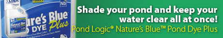 Pond Logic® Nature's Blue™ Pond Dye Plus