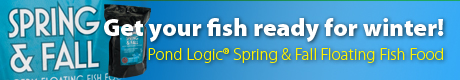 Pond Logic Spring & Fall Fish Food