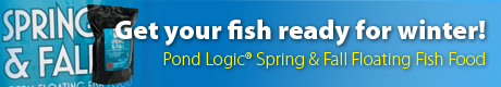 Pond Logic® Spring & Fall Fish Food