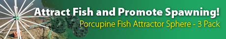Porcupine® Fish Attractor Spheres