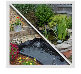 What benefits are there to having a water feature and what types of features are there?
