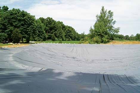 Large pond liner faq other pond lake articles the pond guy for Make your own pond liner