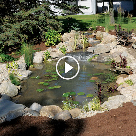 How To Install A Waterfall At The Pond Guy