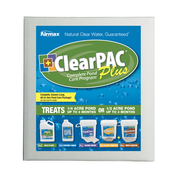 Airmax® ClearPAC® Plus (formerly Pond Logic®)