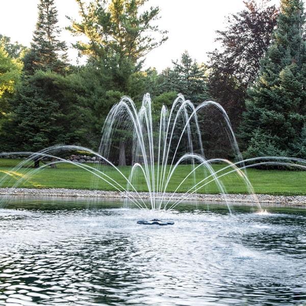 Airmax EcoSeries Premium Double Arch Fountain Nozzle 1/2 HP