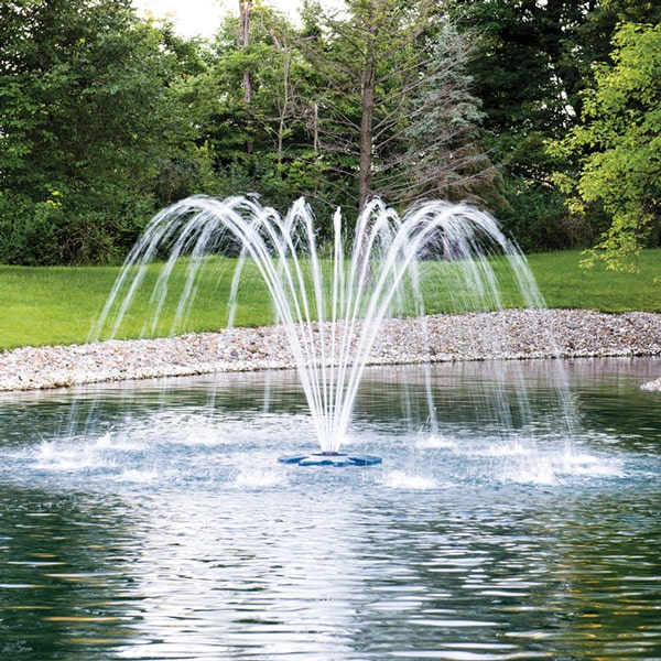 Airmax EcoSeries Premium Single Arch Fountain Nozzle 1/2 HP