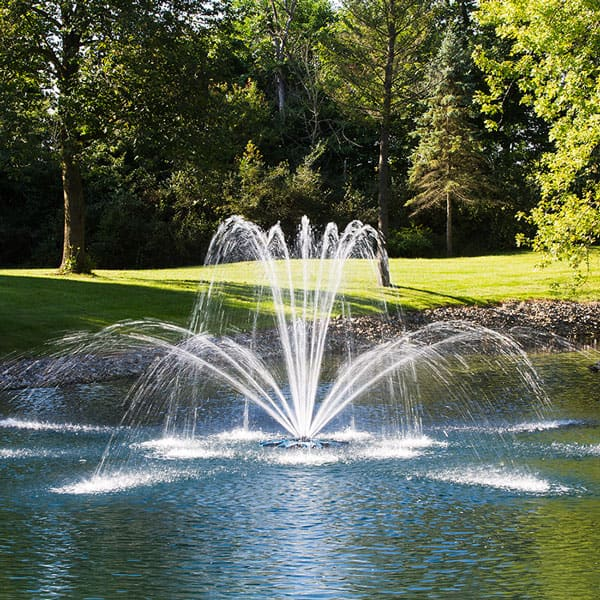 Airmax® PondSeries™ Premium Double Arch Fountain Nozzle, 1/2 HP - 2 HP