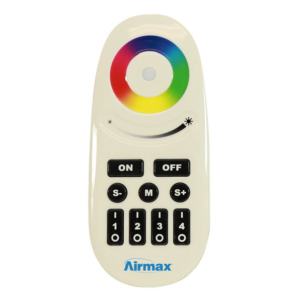 Airmax® RGBW Color-Changing LED Light Remote