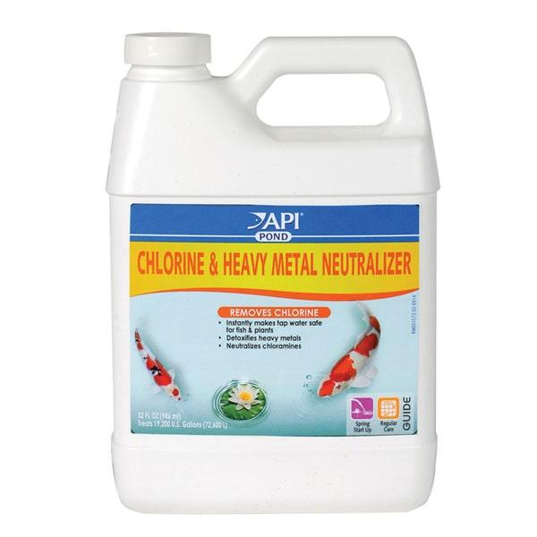API Pond Chlorine & Heavy Metal Neutralizer