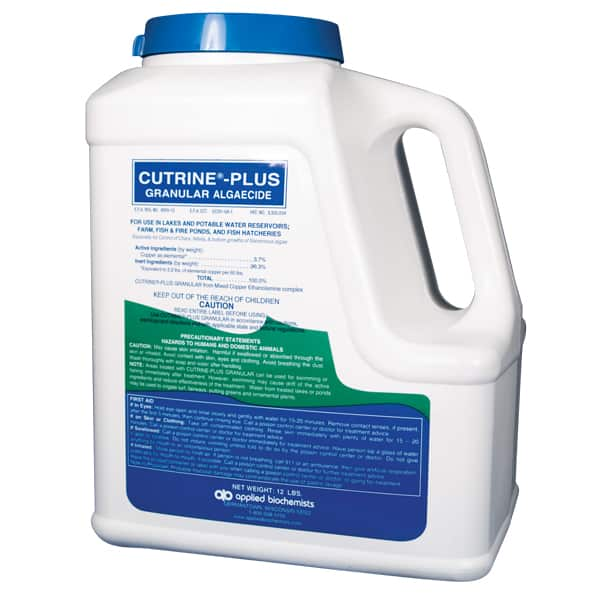 Applied Biochemists Cutrine Plus Granular Algae Control
