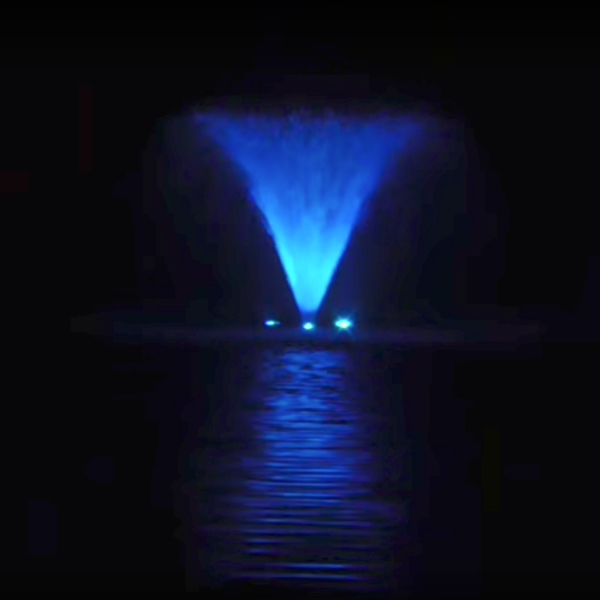 Aqua Control 9 Watt, RGB Color Changing LED Light Kit - 50' Power Cord