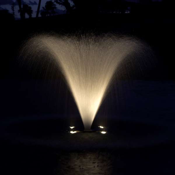 Aqua Control 9W LED Fountain Light Kit, 50' Power Cord