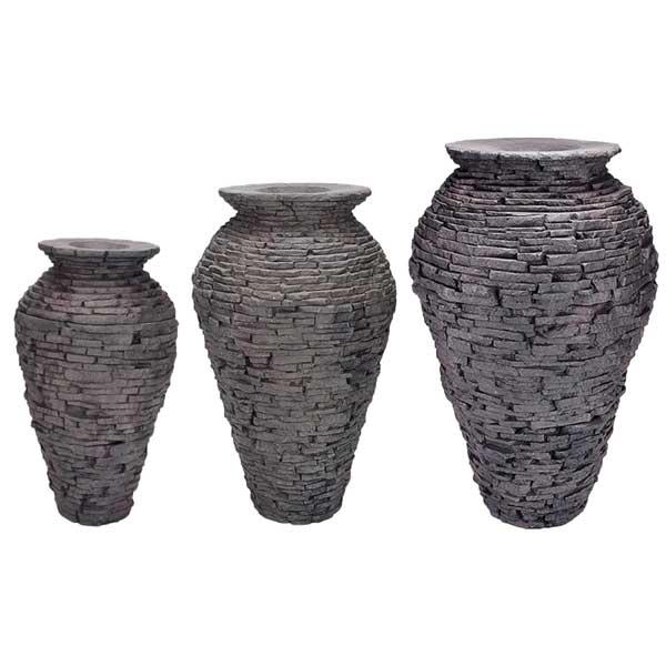 Aquascape Stacked Slate Urn