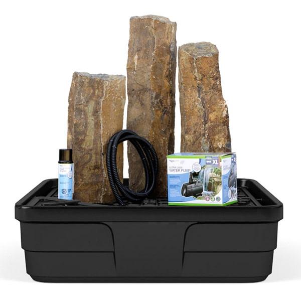 Aquascape Basalt Columns Set of 3 Landscape Fountain Kit
