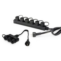Aquascape 12 Volt Lighting Splitter w/Quick Disconnects