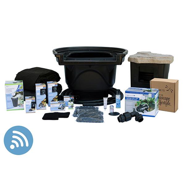 Aquascape Large 21' x 26' Pond Kit w/ AquaSurge Pro 4000-8000