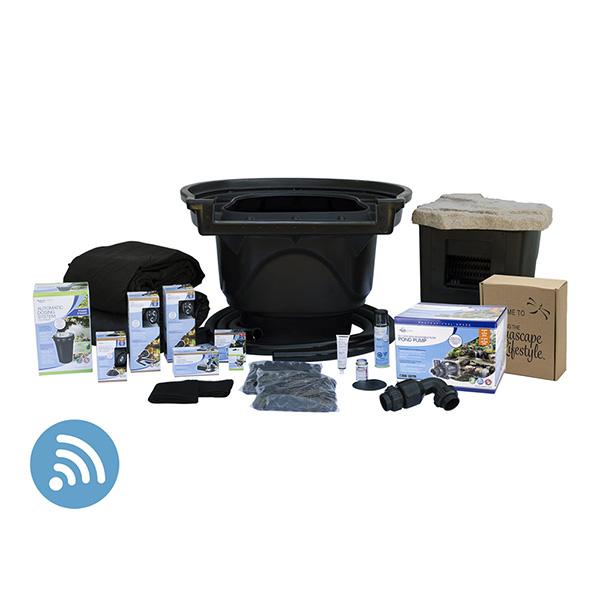 Aquascape Large 21' x 26' Pond Kit w/ SLD Pump
