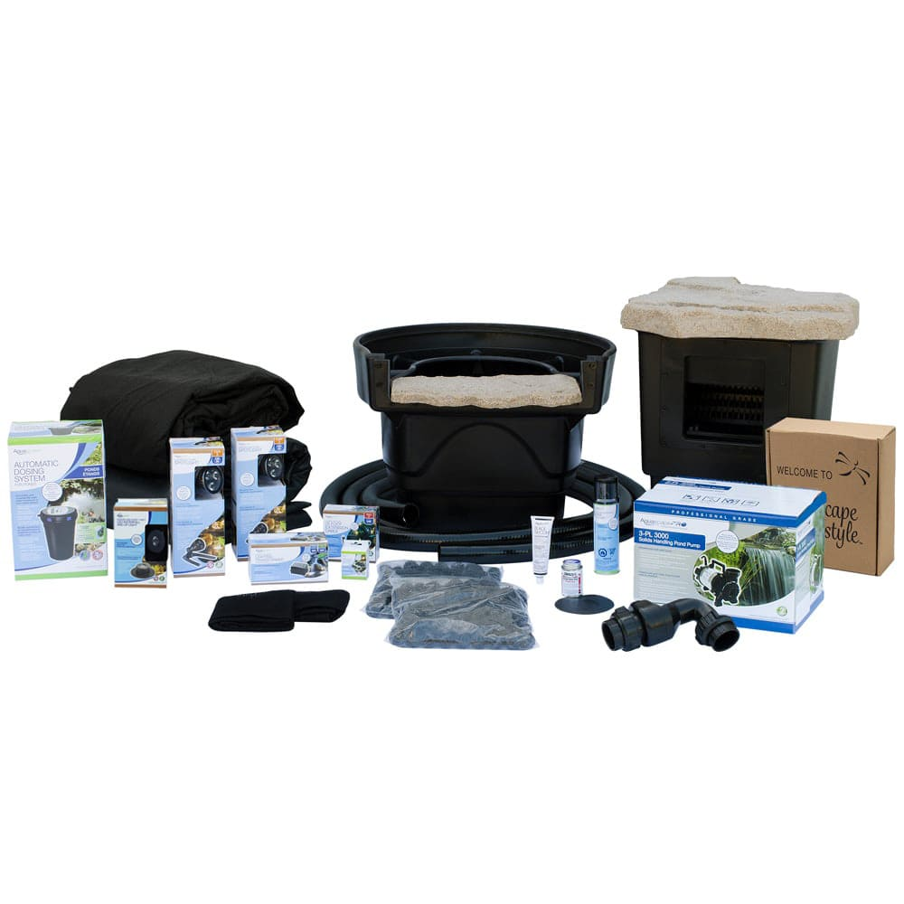Aquascape Pond Waterfall Kit Tsurumi Pond Pump The Pond Guy